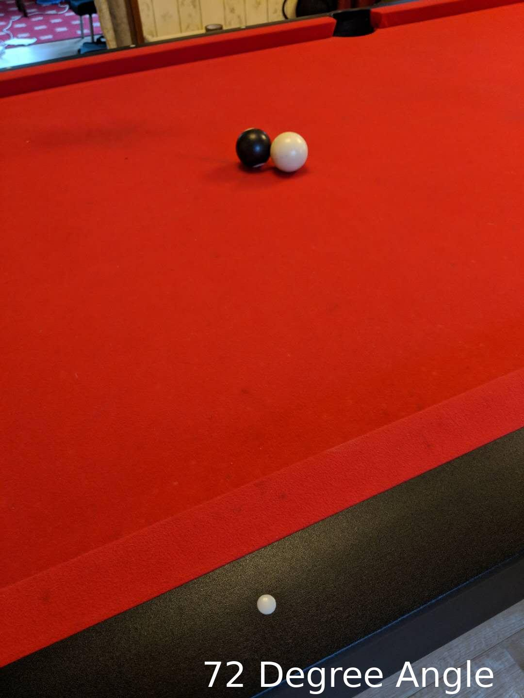 How To Set Up Pool Balls Quora >> Show How To Calculate What Angle To Hit A Pool Ball With