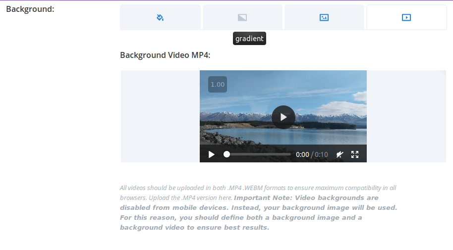 How to setup Fullwidth Video Background with DIVI and FFMPEG • Jesse Lau Blog